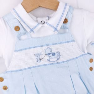 Blue Dungaree Outfit