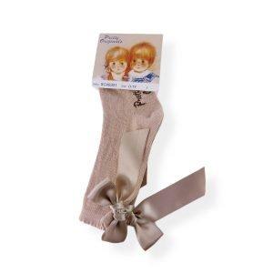 Pretty Originals Camel Bow Socks