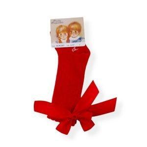 Pretty Originals Red Ribbon Socks