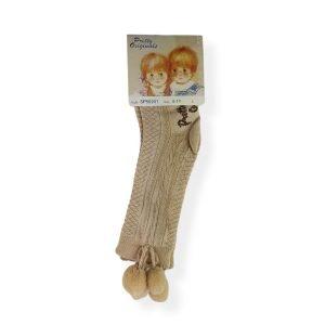 Pretty Originals Camel Pom Pom Socks