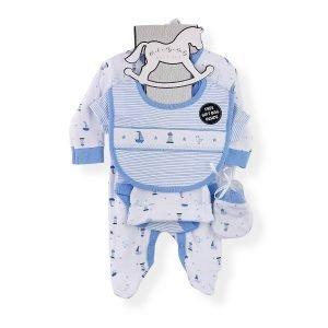 Baby Boy Sleepsuit Gift Set