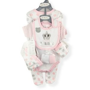 7 Piece Gift Set for Baby Girls