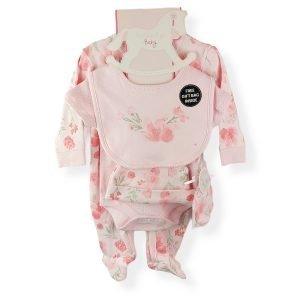 Sleepsuit Gift Set for Baby Girls
