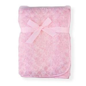 Pink Rose Bud Shawl