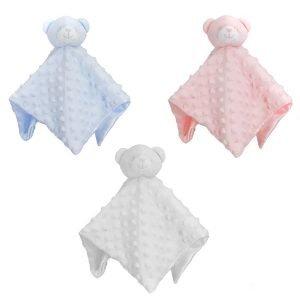 Pink Teddy Bear Comforter