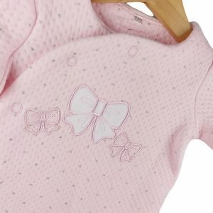 Pink and White Babygrow