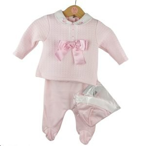 Baby Pink 3 Piece Outfit