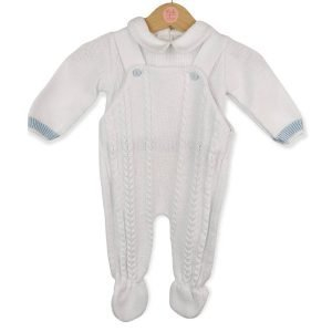 Knitted Dungaree 2 Piece Set